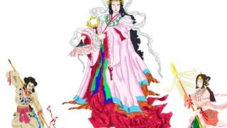 日本神話のイメージ画像。