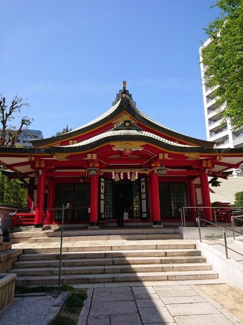 二宮神社本殿。