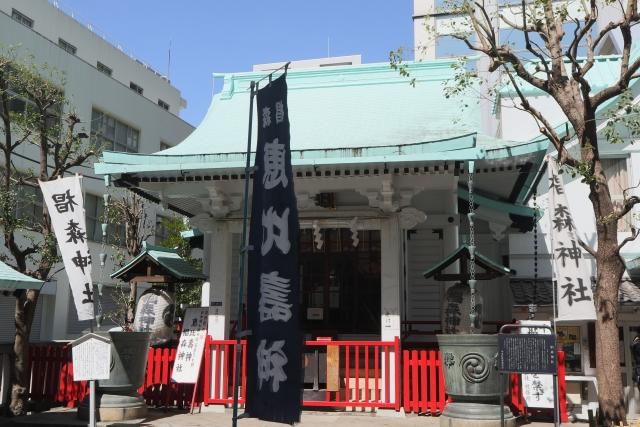 椙森神社。
