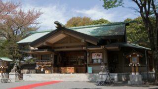 東郷神社の拝殿。