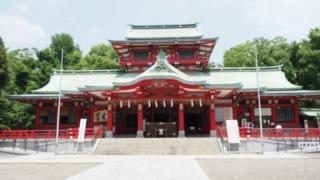 富岡八幡宮御本殿の写真画像。