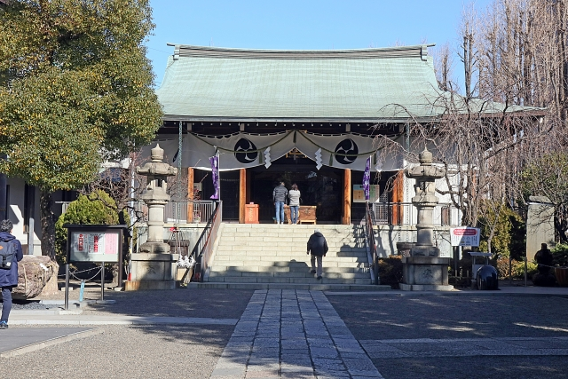 亀戸香取神社の写真画像。